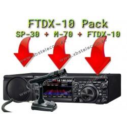 YAESU - FTDX-10 + SP-30 + M-70 SET