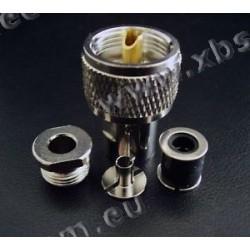 M & P - AC5M-S-PL - Connecteur PL259 pour 5 mm