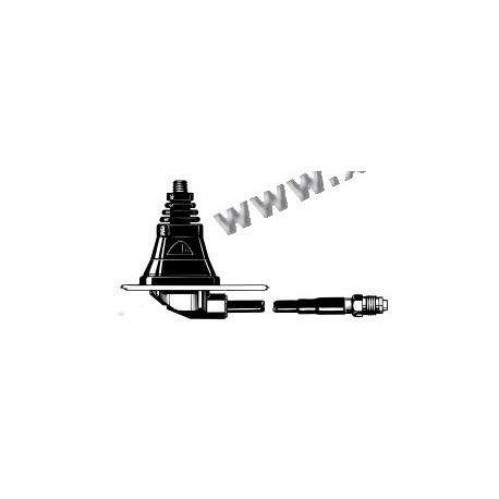 Procom - CXP4 - Embase d'antenne cablée connecteur FME