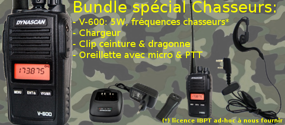 Pack spécial chasseurs